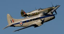 de Havilland Devon & Spitfire HF9 TD314 Richard Foord Photography Copyright