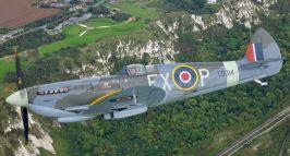 Spitfire HF9 TD314 Battle Of Britain Memorial, Capel-le-Ferne, Kent. Richard Paver Photography Copyright