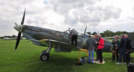 Sit In A Spitfire Headcorn. Richard Paver Photography Copyright