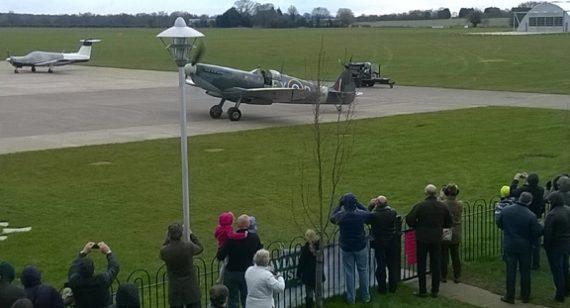 Spitfire80thTaxiRun