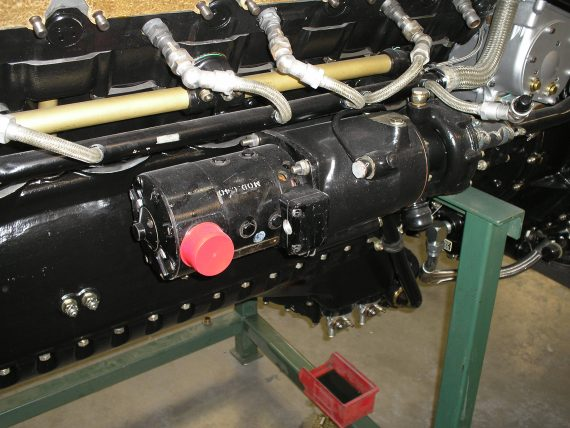 Spitfire Restoration 20 Engine