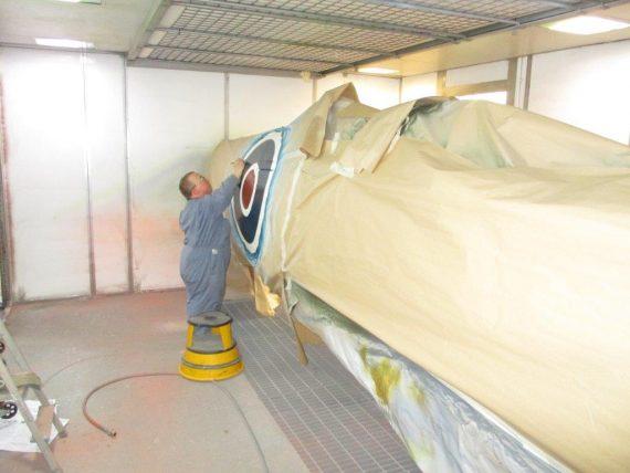 R25 NH341 Fuselage Painting (6)