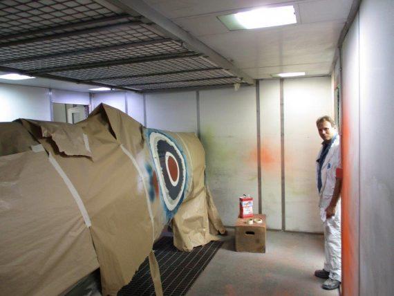 R25 NH341 Fuselage Painting (7)