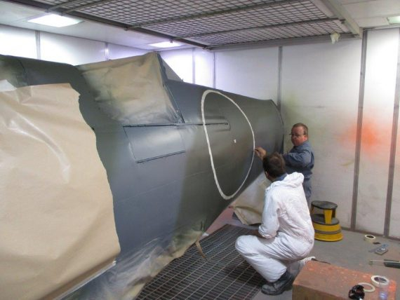 R25 NH341 Fuselage painting (4)