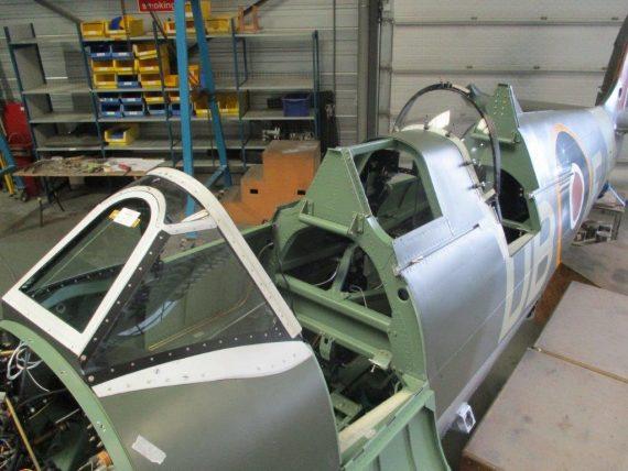Spitfire Restoration NH341 #26
