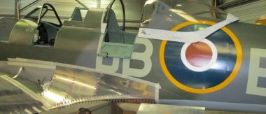 Supermarine Spitfire R27 NH341 Assembly (2)