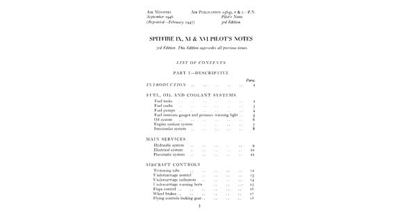 Spitfire-Pilot's-Notes-Pg1