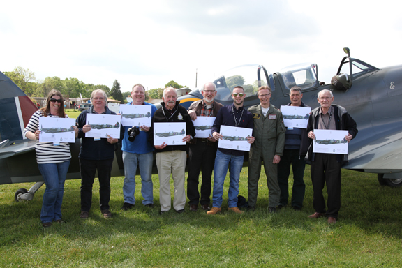 Fly With A Spitfire 13th May 2017. 12