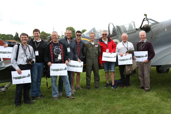 Fly With A Spitfire 13th May 2017. 20