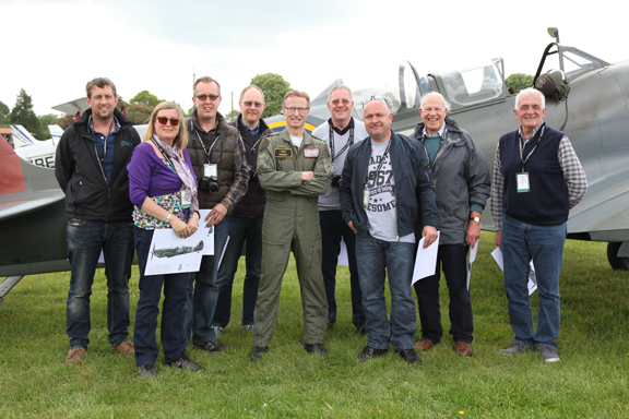 Fly With A Spitfire 13th May 2017. 26