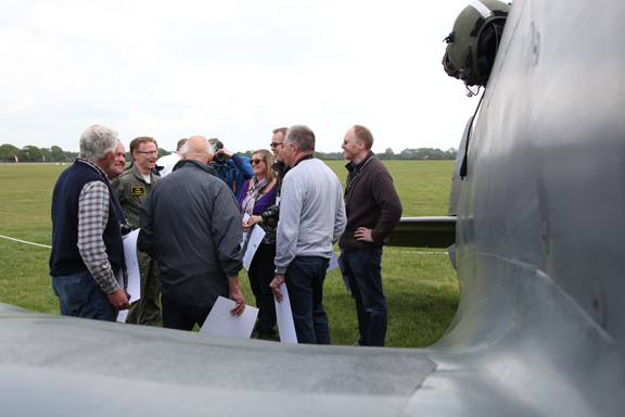 Fly With A Spitfire 13th May 2017. 27