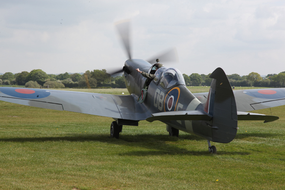 Fly With A Spitfire 13th May 2017. 8