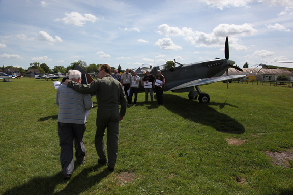 Fly With A Spitfire 14th May 2017. 10