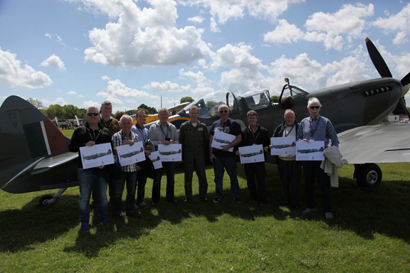 Fly With A Spitfire 14th May 2017. 4
