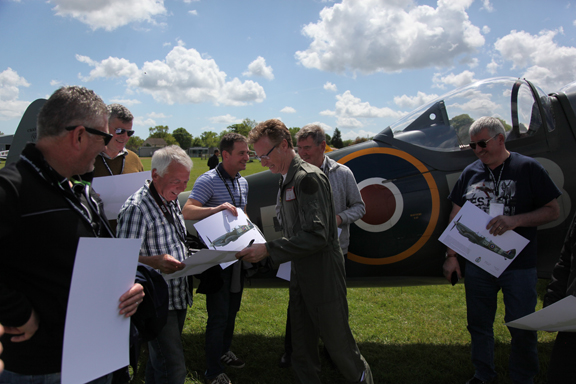 Fly With A Spitfire 14th May 2017. 5