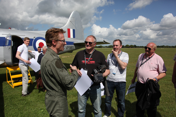 Fly With A Spitfire 14th May 2017. 9