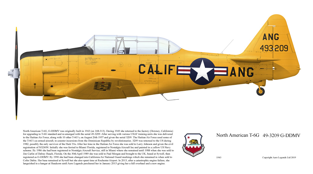 North American T-6G 'Harvard'