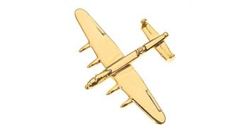 Lancaster Badge Gold Small