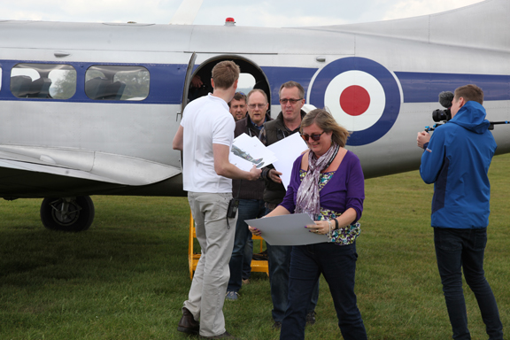 Fly With A Spitfire 13th May 2017. 25