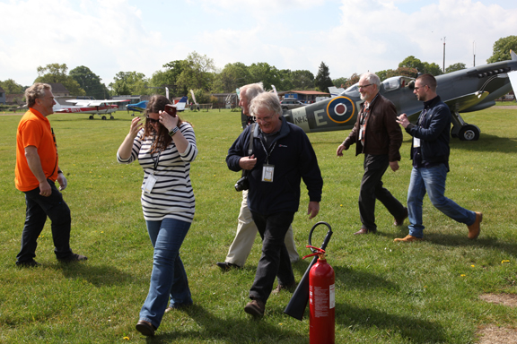 Fly With A Spitfire 13th May 2017. 5