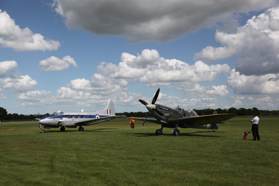 Fly With A Spitfire 14th May 2017. 8
